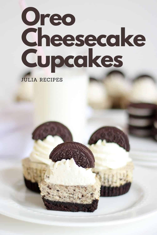 pin oreo cheesecake cupcakes