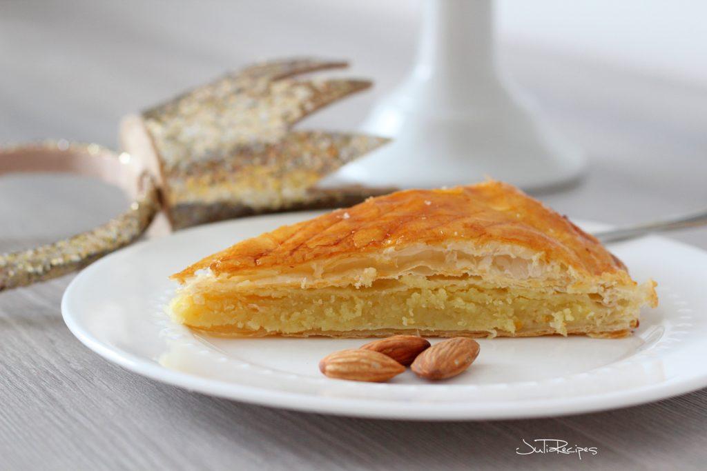 slice of almond cake