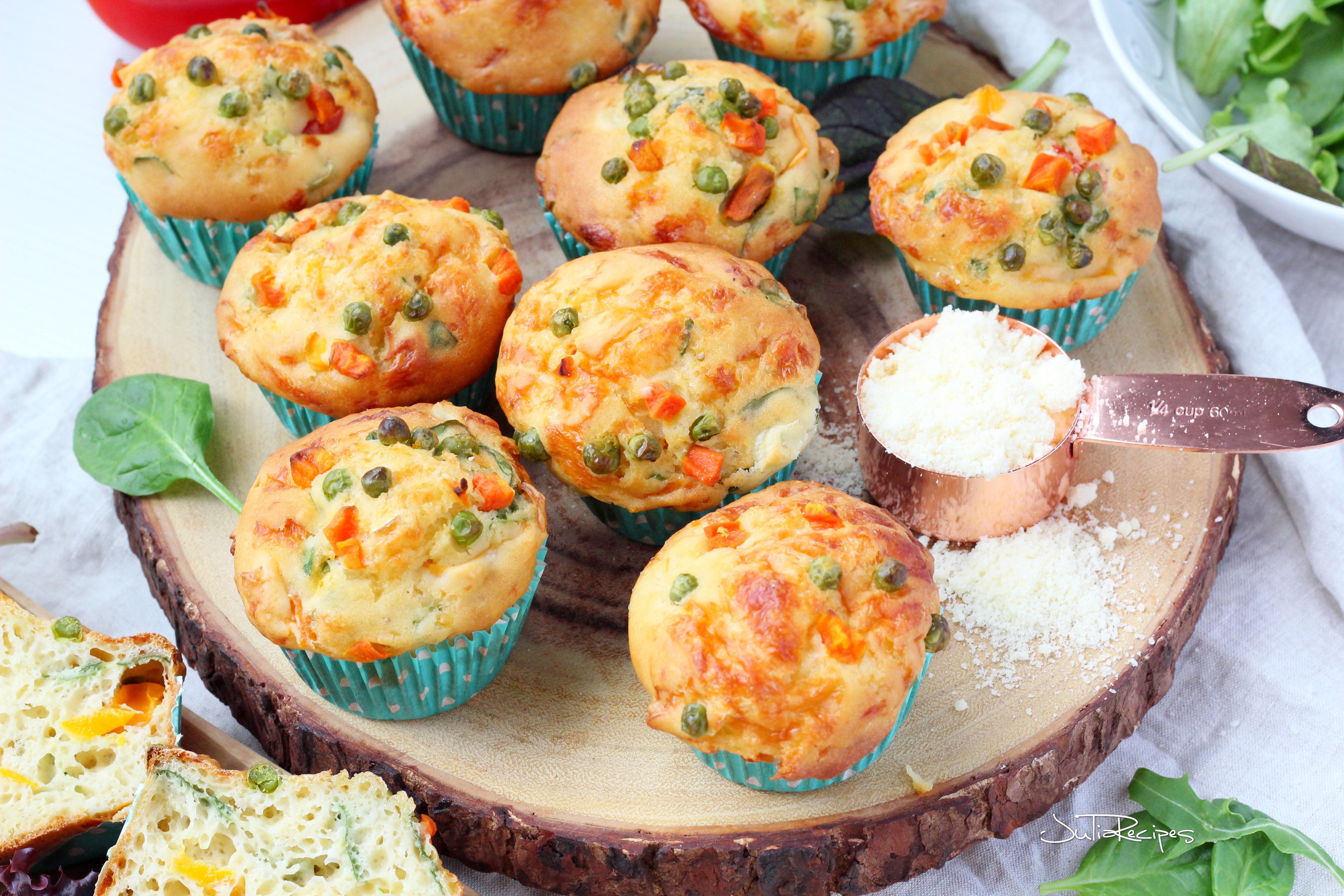 breakfast savoury muffins