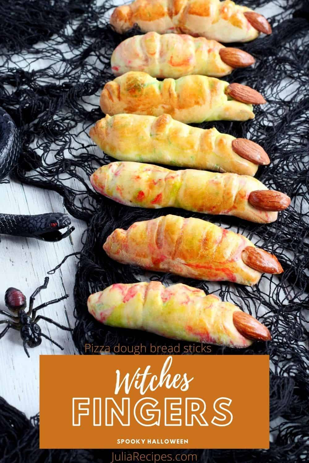witches fingers pin