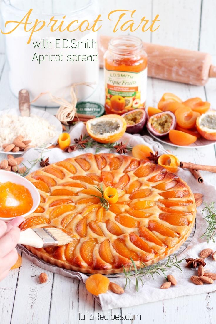 Apricot Tart pinterest