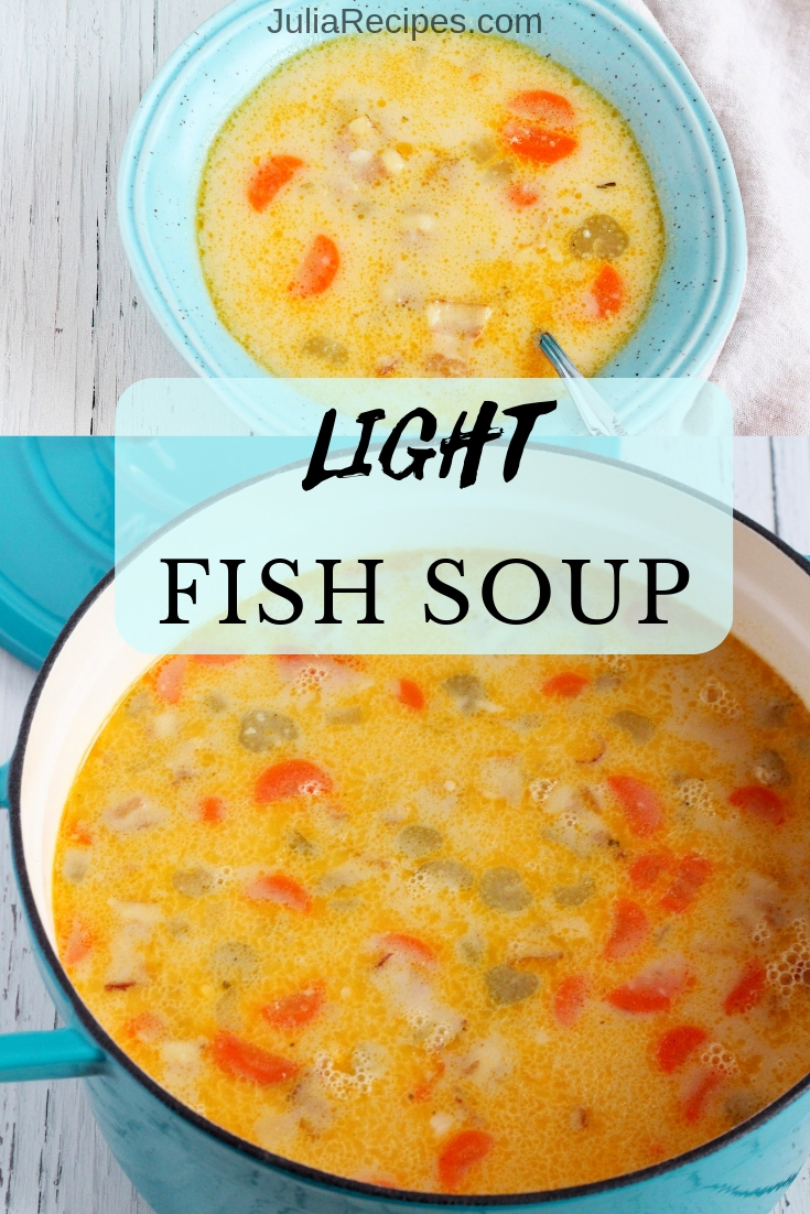 light fish soup
