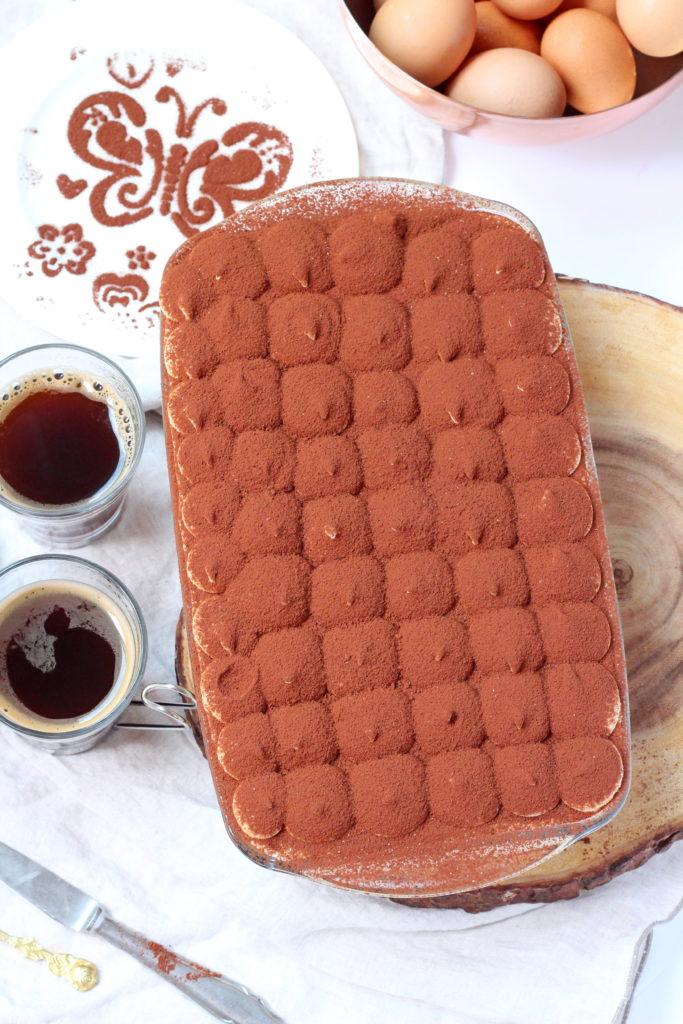 classic tiramisu with mascarpone