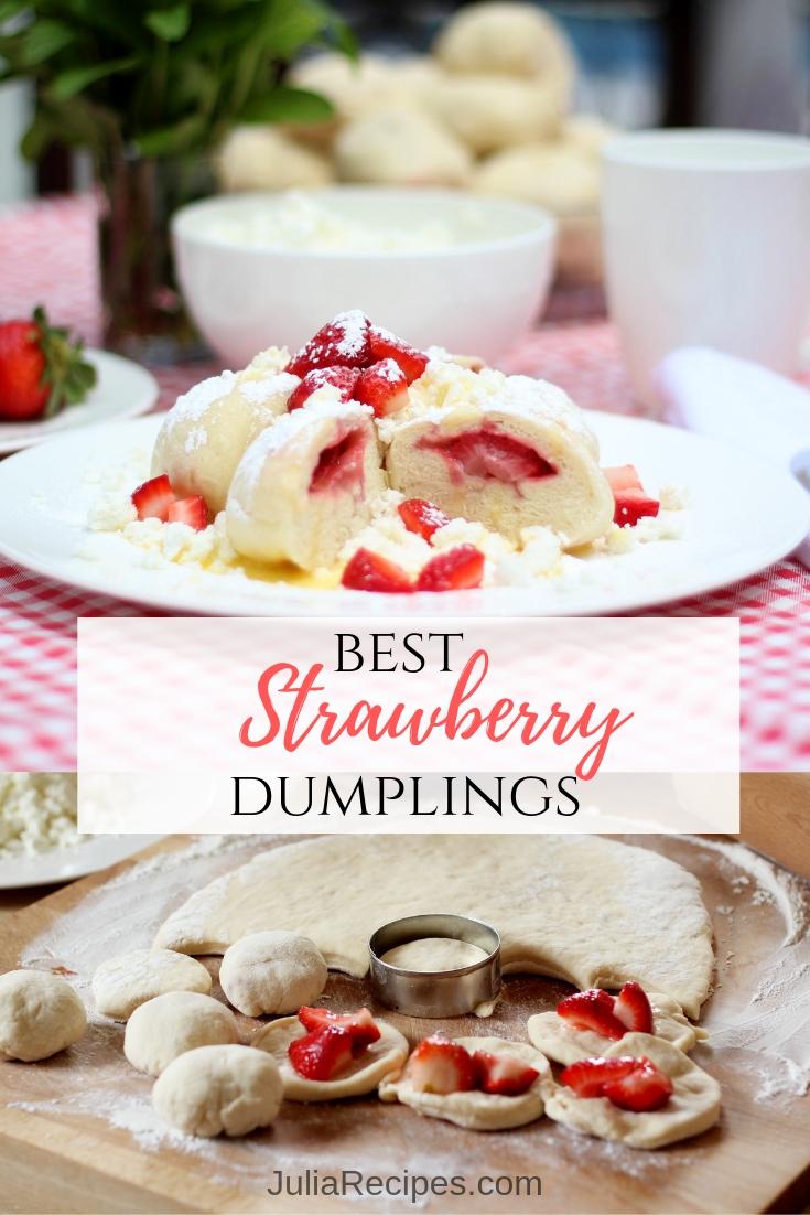 best strawberry dumplings