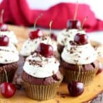 black forest cupcakes featured image