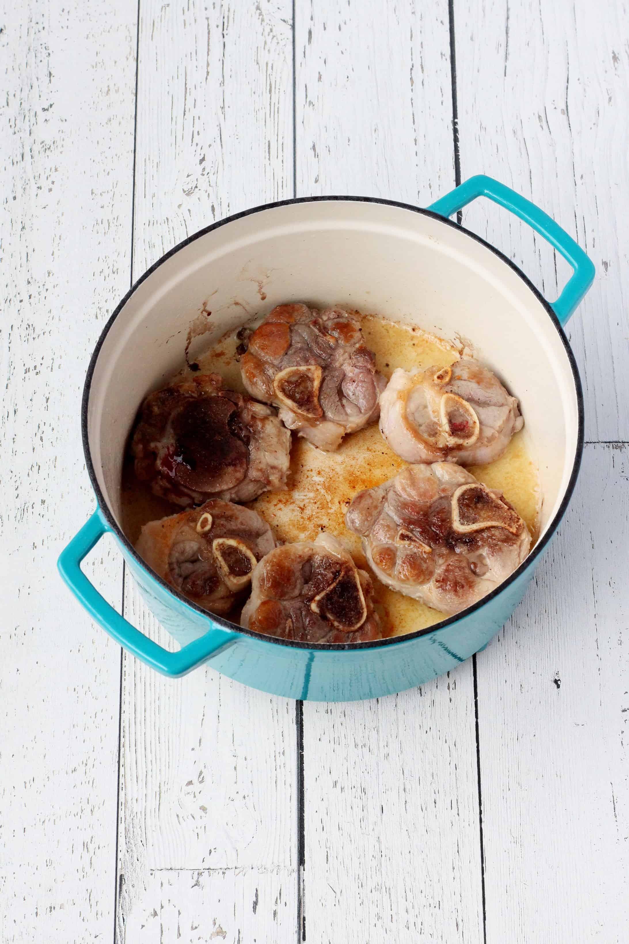 Italian pork osso buco