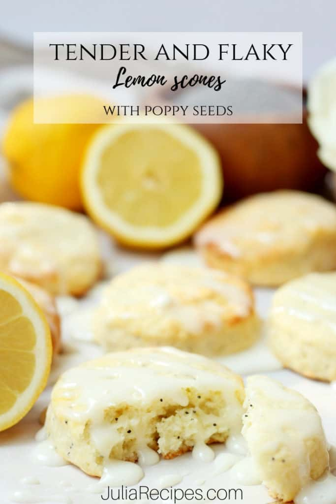 lemon scones pinterest graphics