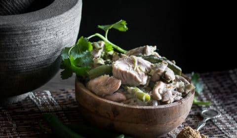 Thai Green Chicken Curry Dishfolio