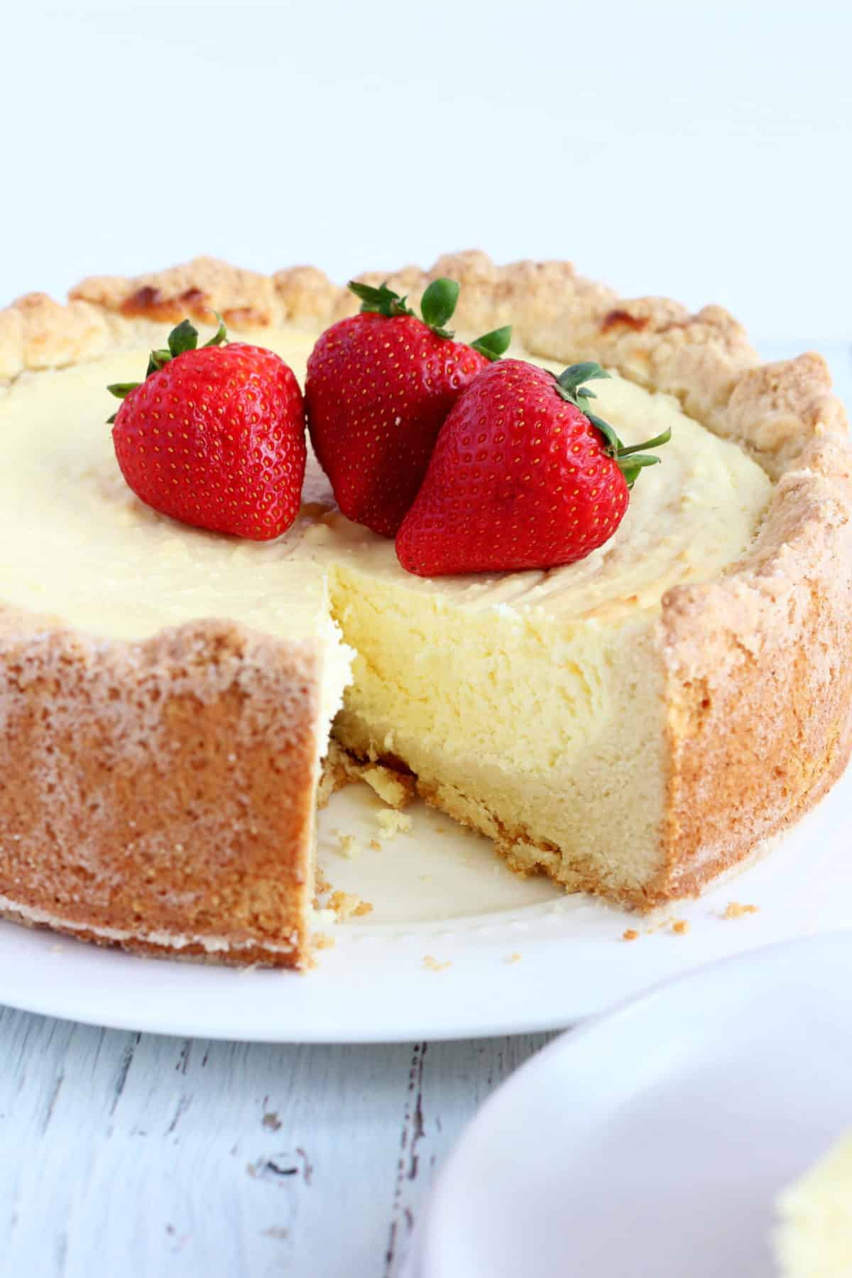 old-fashioned cheese cake