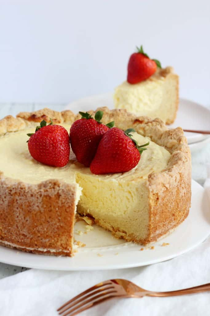 rustic cheese cake