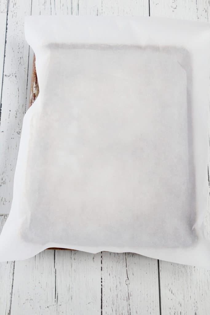 empty sheet pan