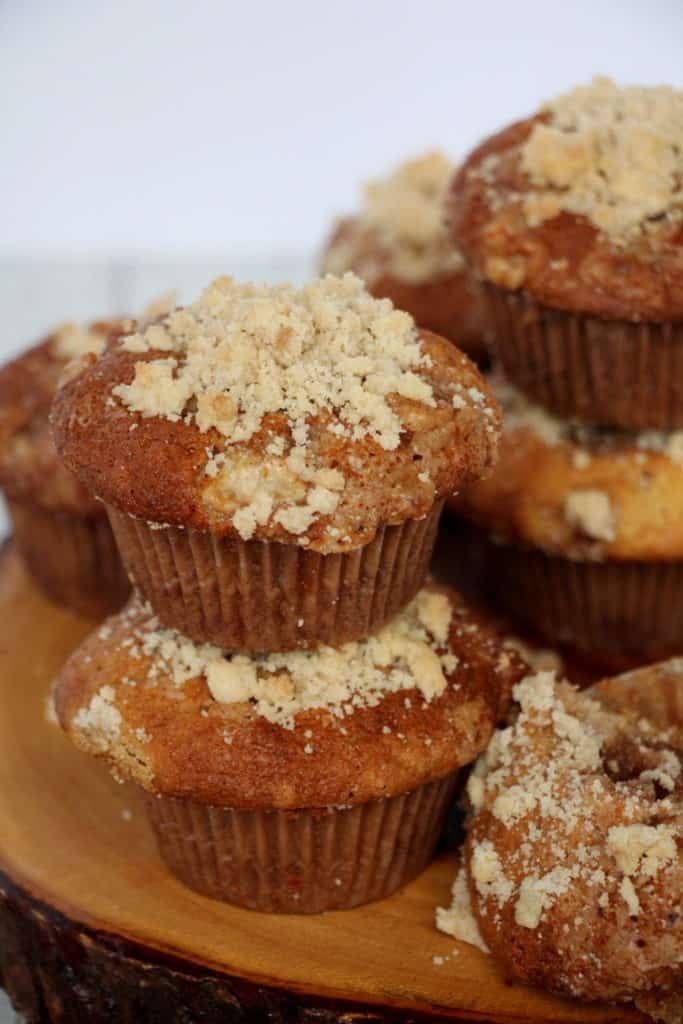 delicious Apple streusel muffins