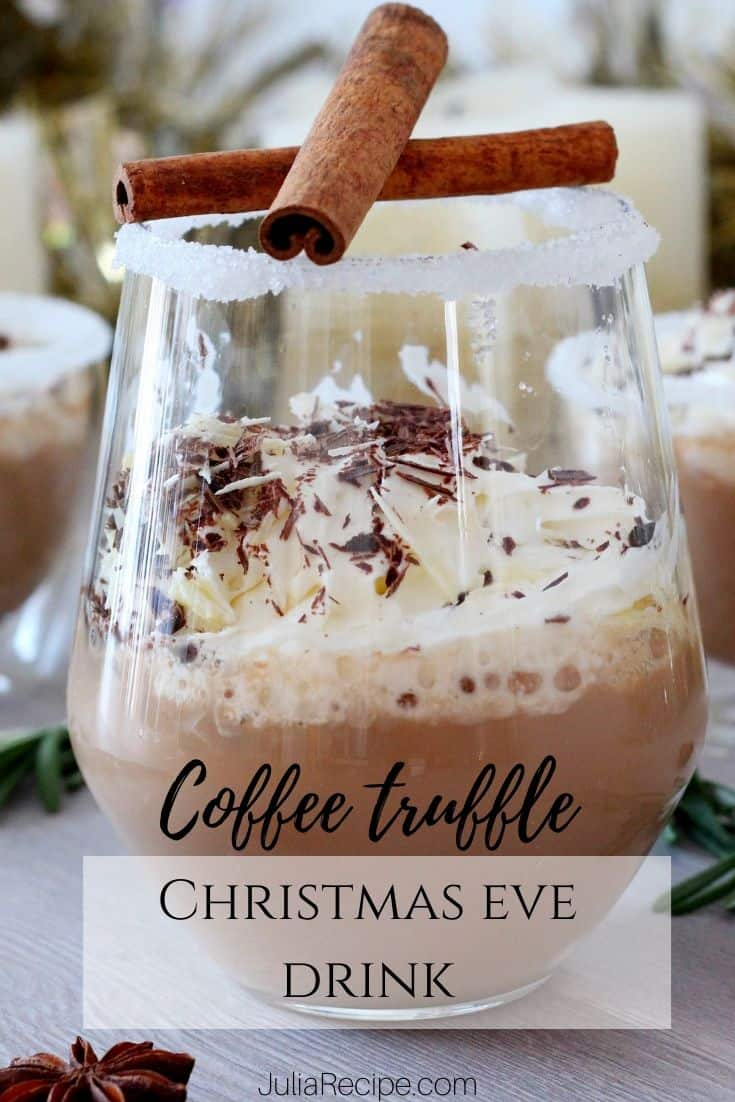 Christmas eve drink with pinterest graphics