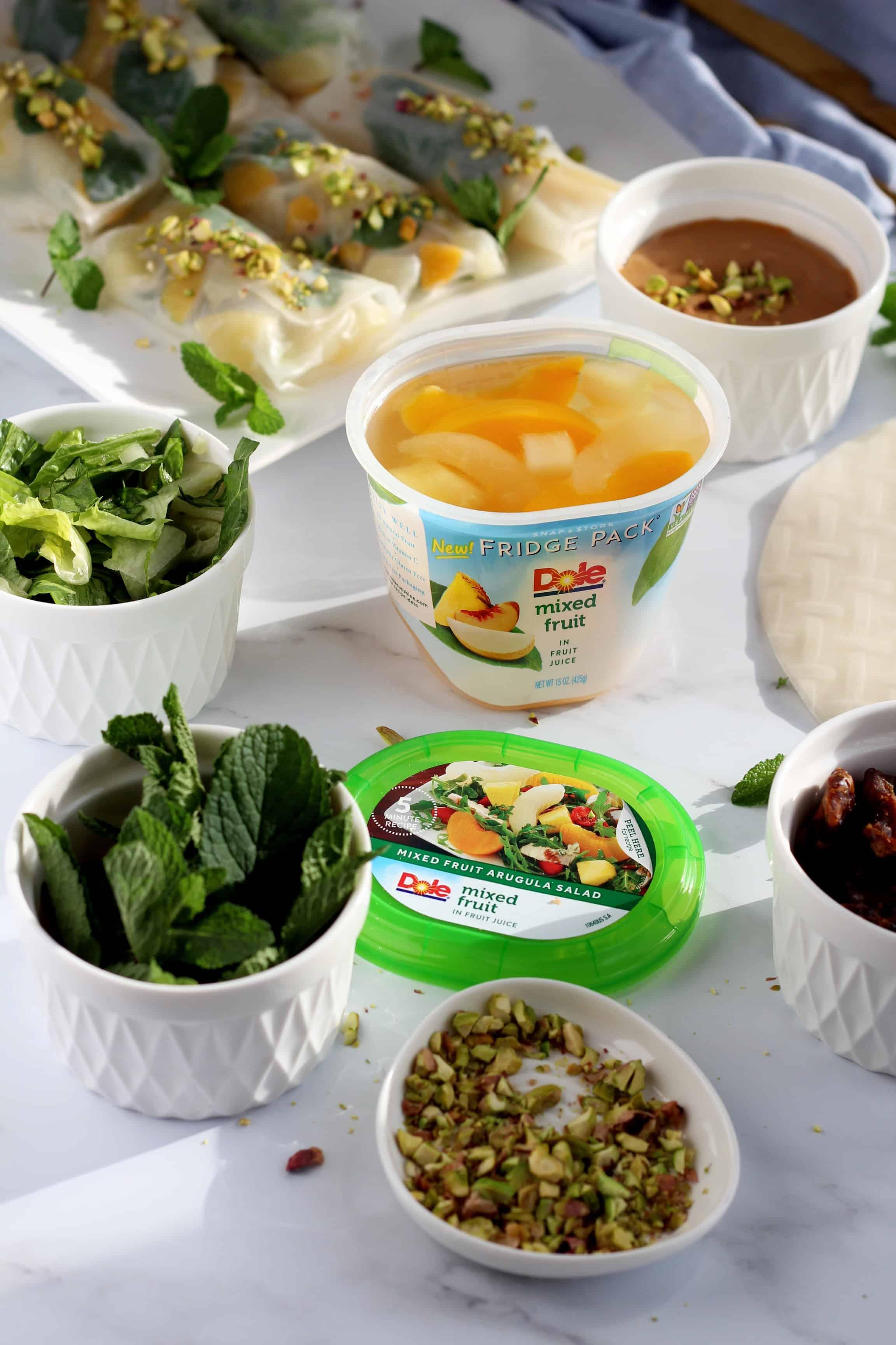 Julia Recipes Dole Mixed Fruit Fridge Pack 1