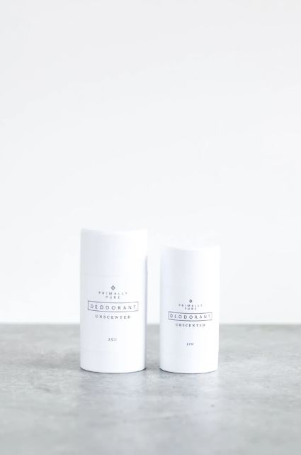 unscented deodorant Primally Pure