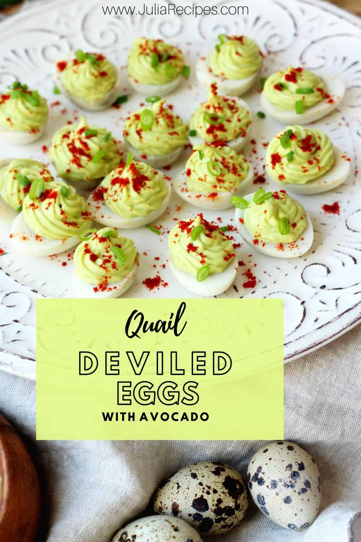 avocado eggs with pinterest graphics