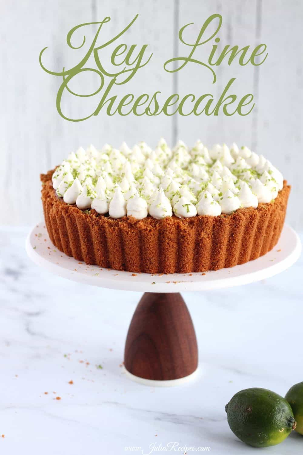 Key Lime Cheesecake pin