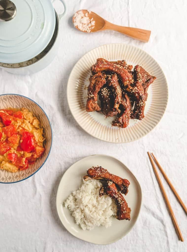 One pot chinese braised rib