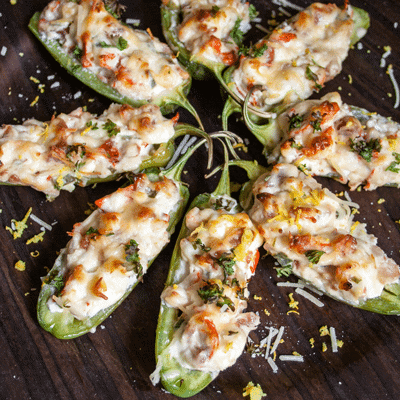 lobster jalapeno poppers
