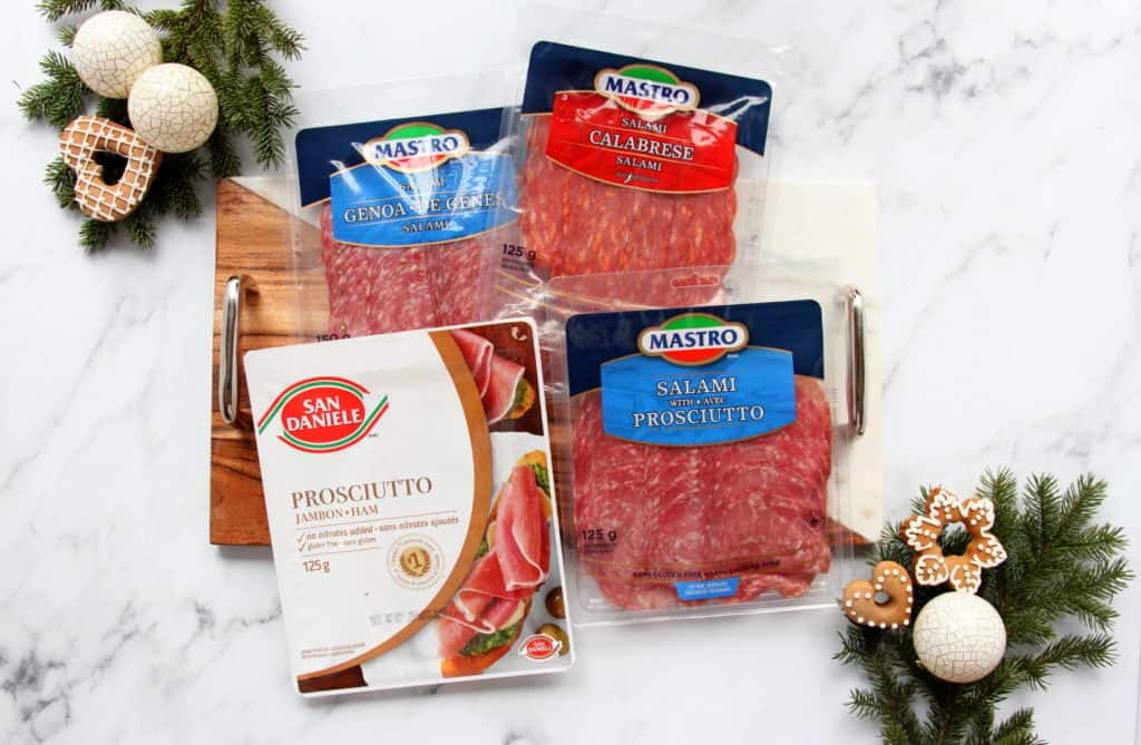 products mastro and san daniele salamis prosciutto