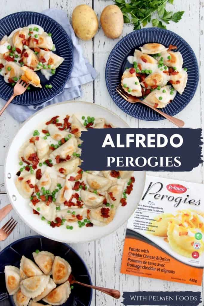 Pin for Alfredo perogies